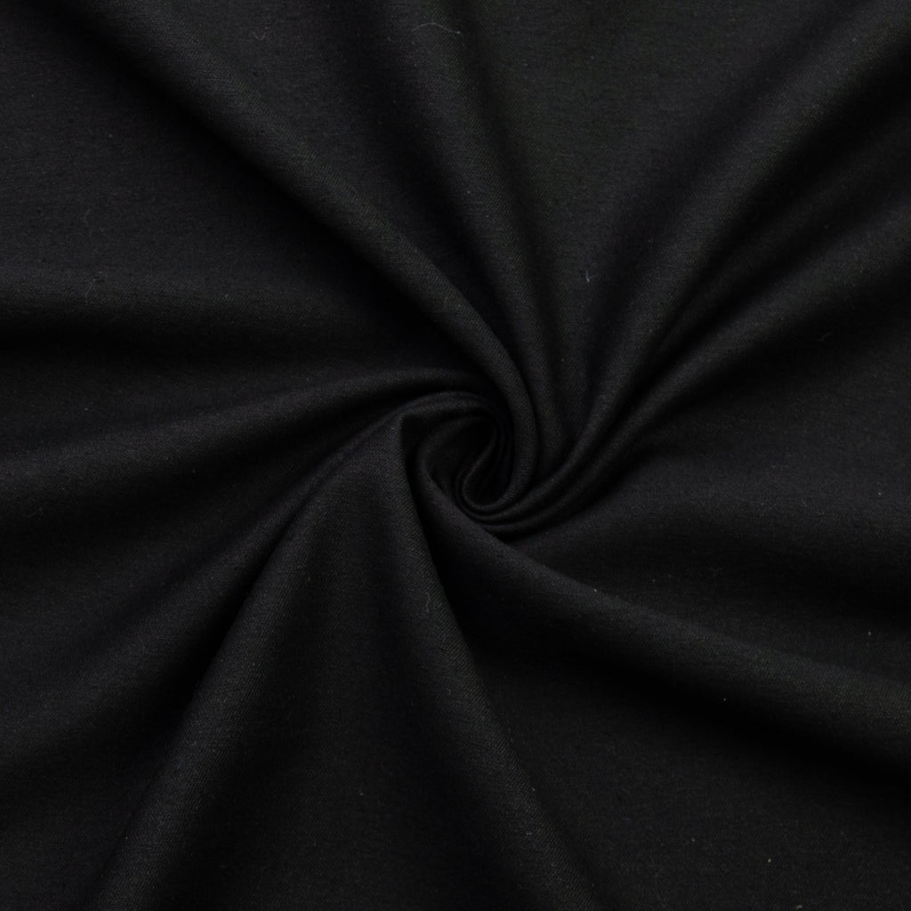 Jabbar Black Cotton Silk