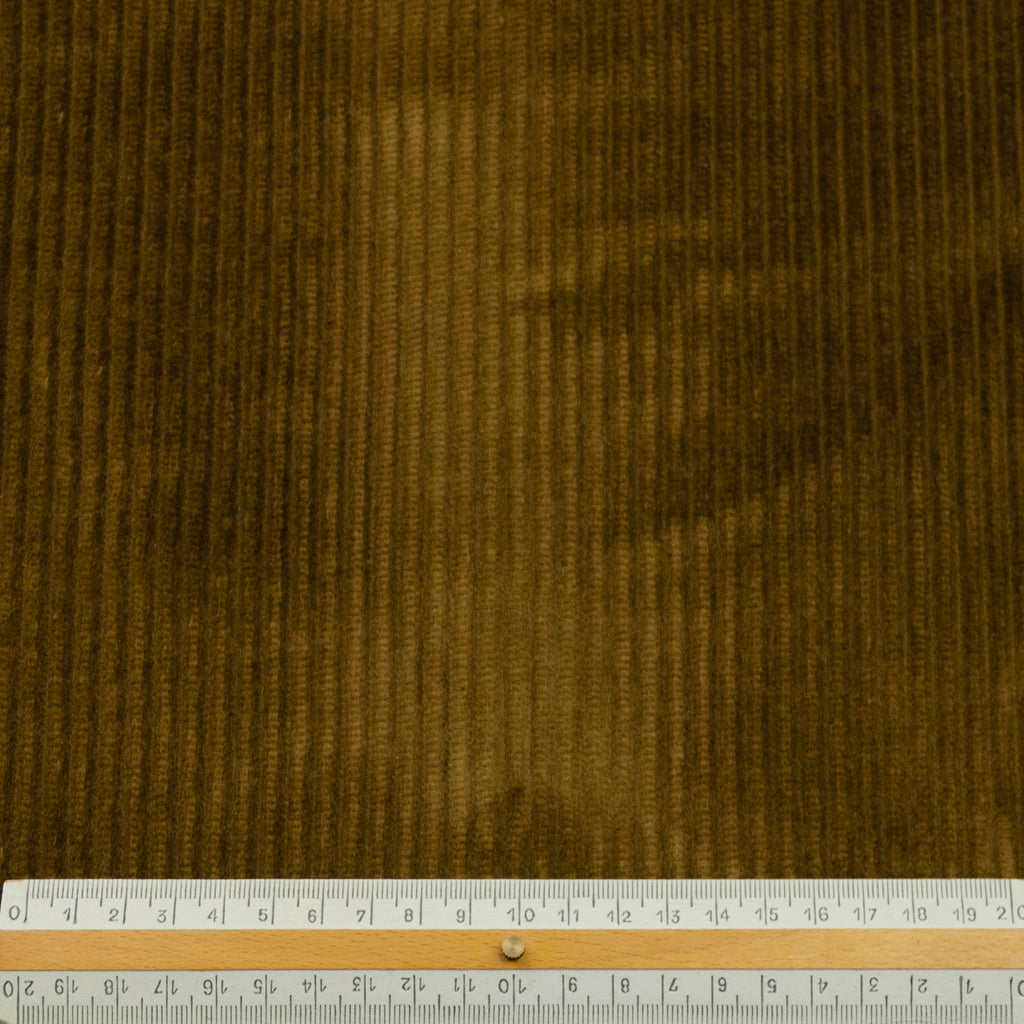 Doris Camel Cotton Corduroy