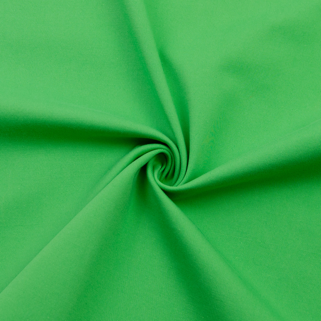 Wellington Bright Green Cotton Stretch