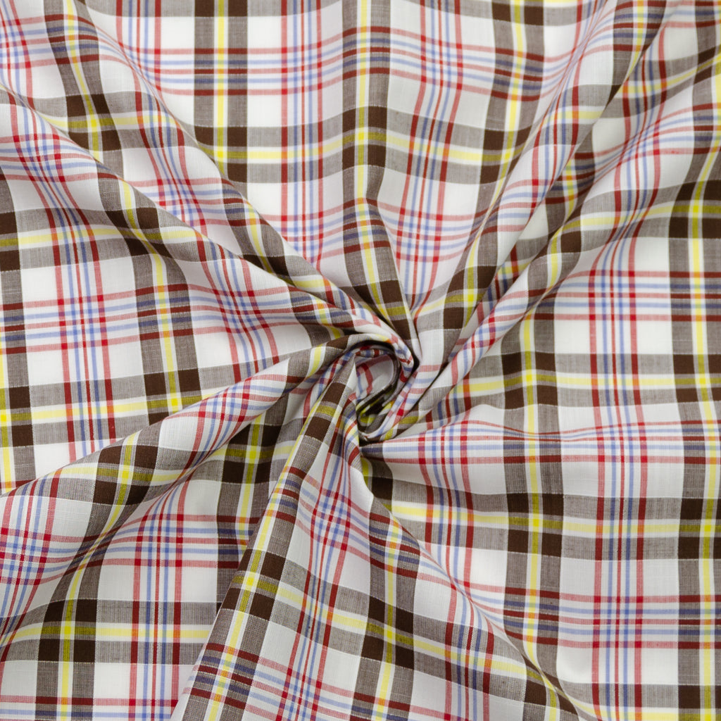 Waldo Autumn Breeze Plaid Cotton