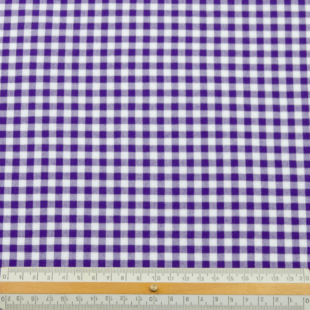 Wafi Mulberry Purple Seersucker Cotton