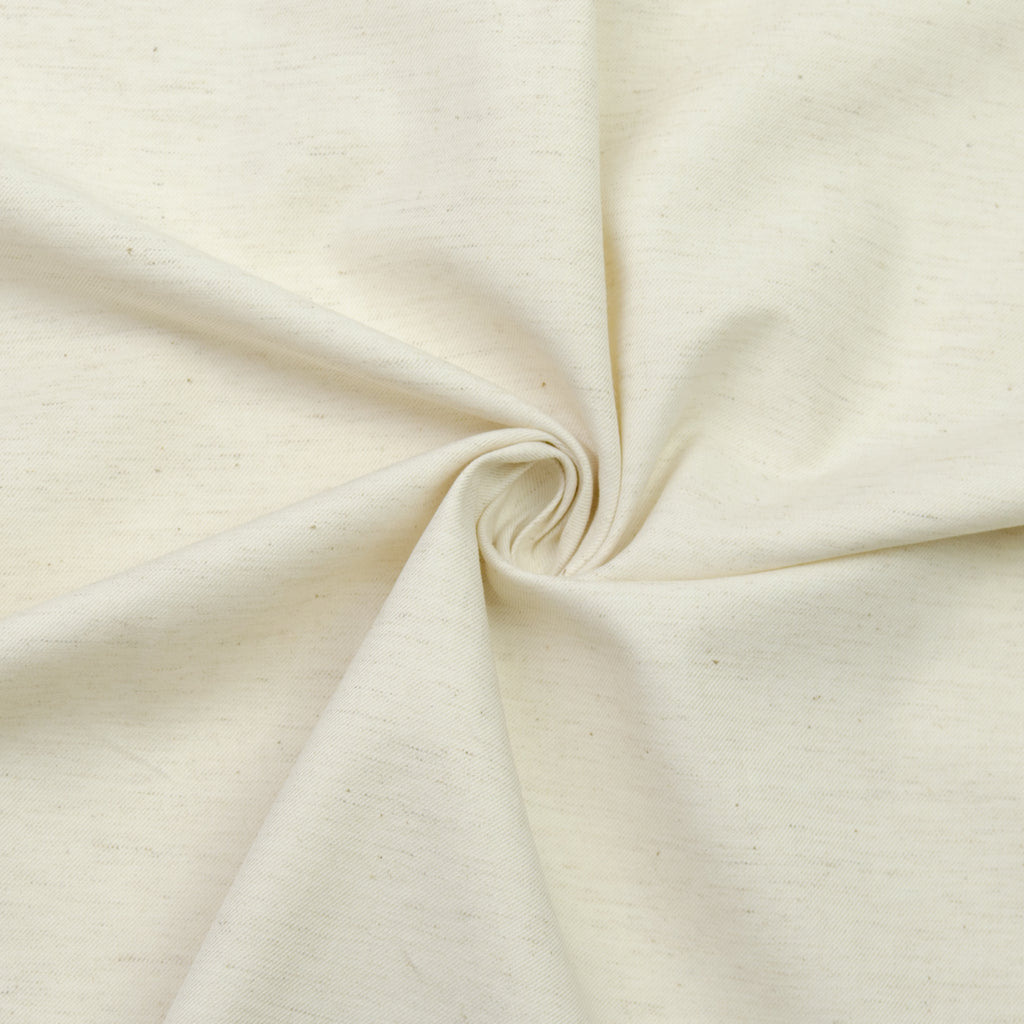 Jabari Off-white Italian Cotton Linen