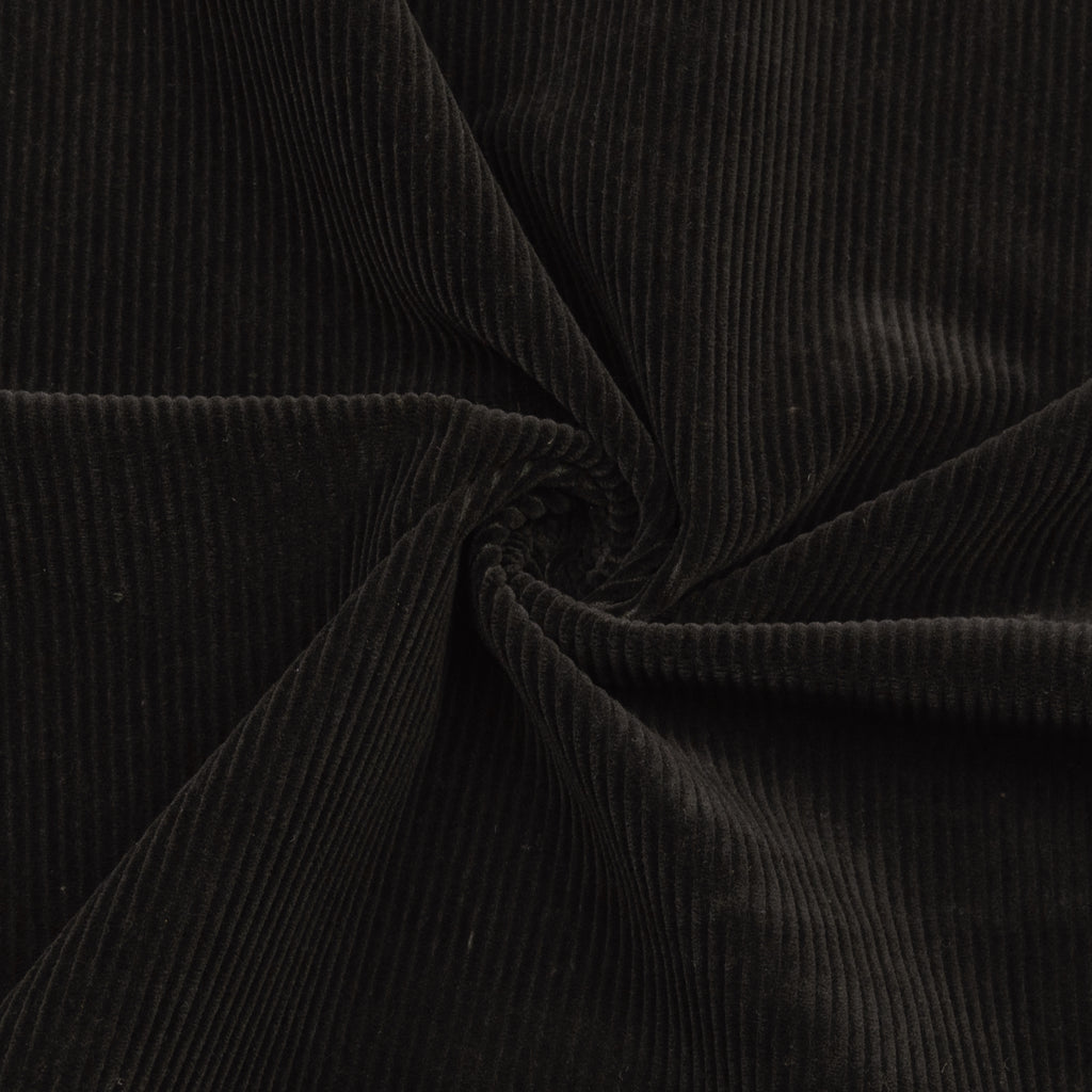 Ban Dark Brown Cotton Corduroy