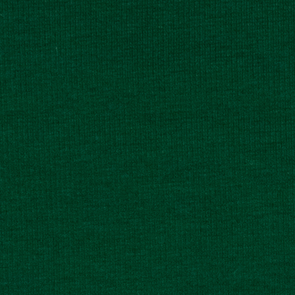 Adman Green Cotton Rib Jersey