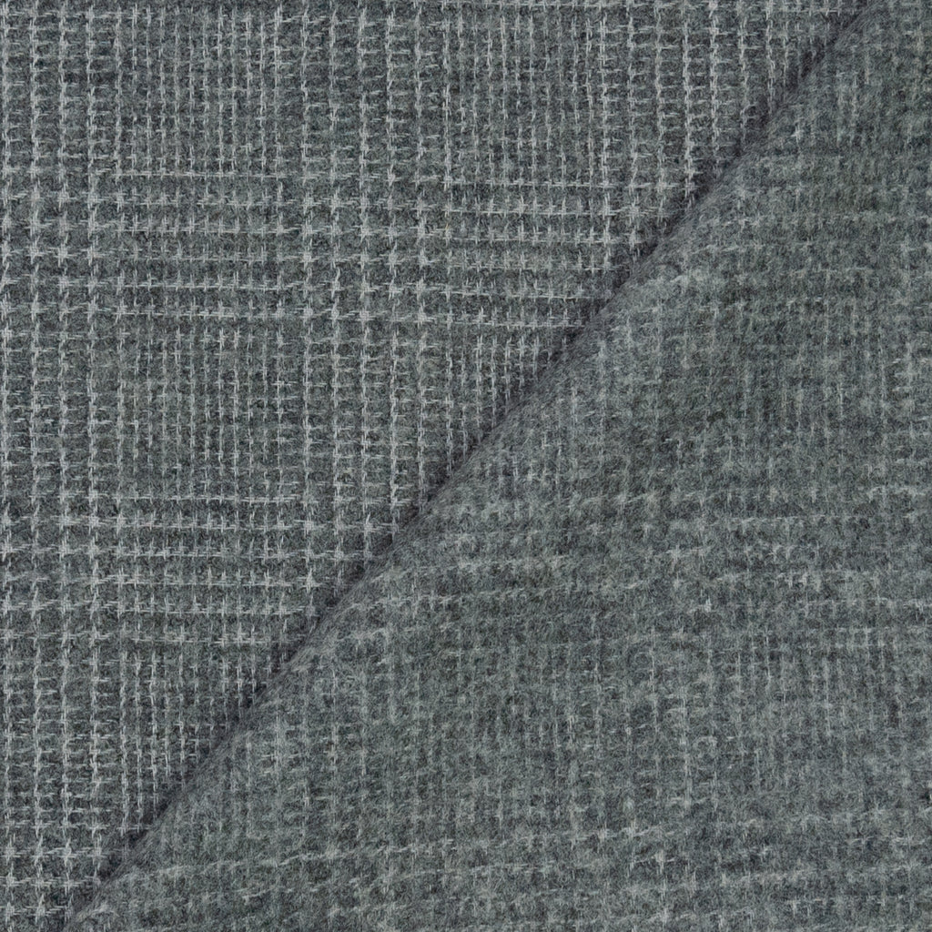 Alana Grey Woven Plaid Wool