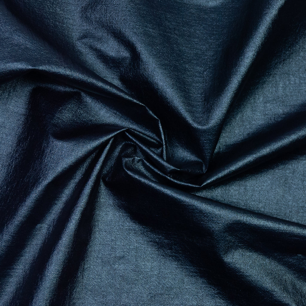 Alexandro Dark Blue Shiny Polycotton