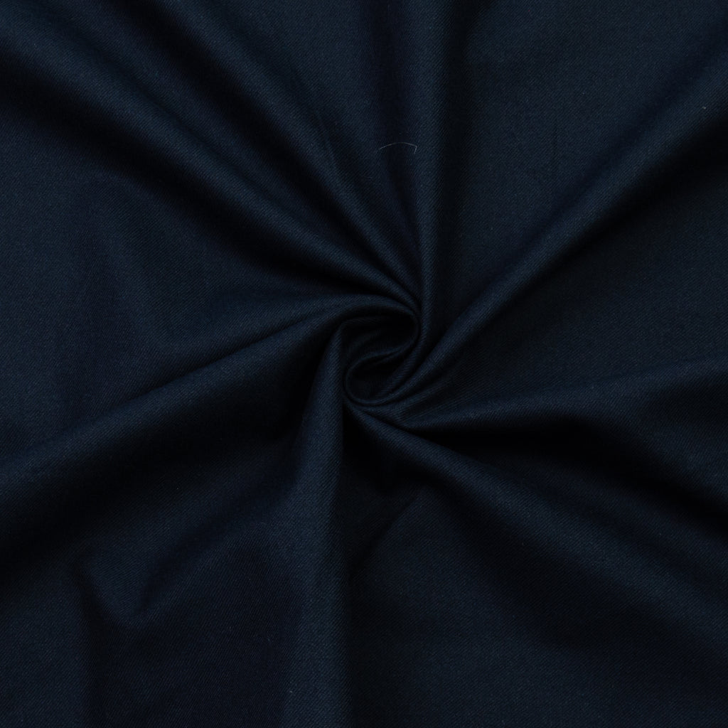 Vanna Navy Blue Cotton
