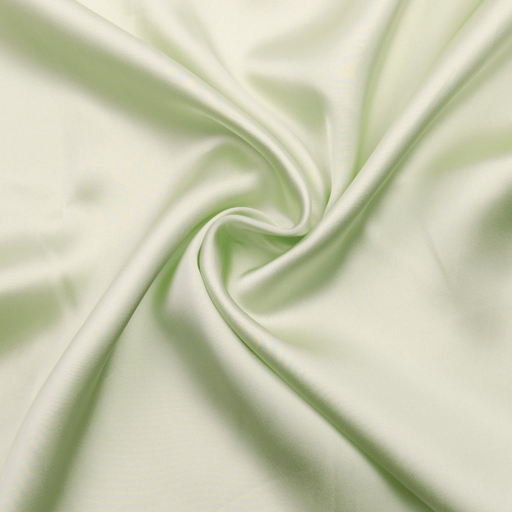 Peleg Pale Green Viscose Satin