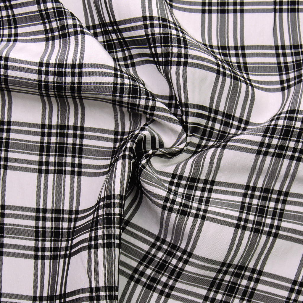Rasmus Black Plaid Viscose