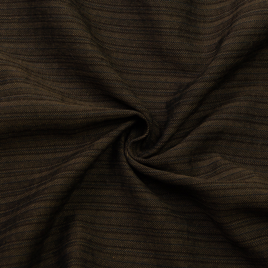 Gael Striped Chevron Cotton Blend