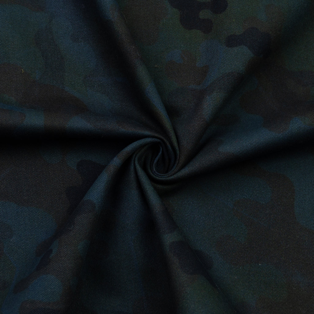 Virgo Camouflage Print Cotton
