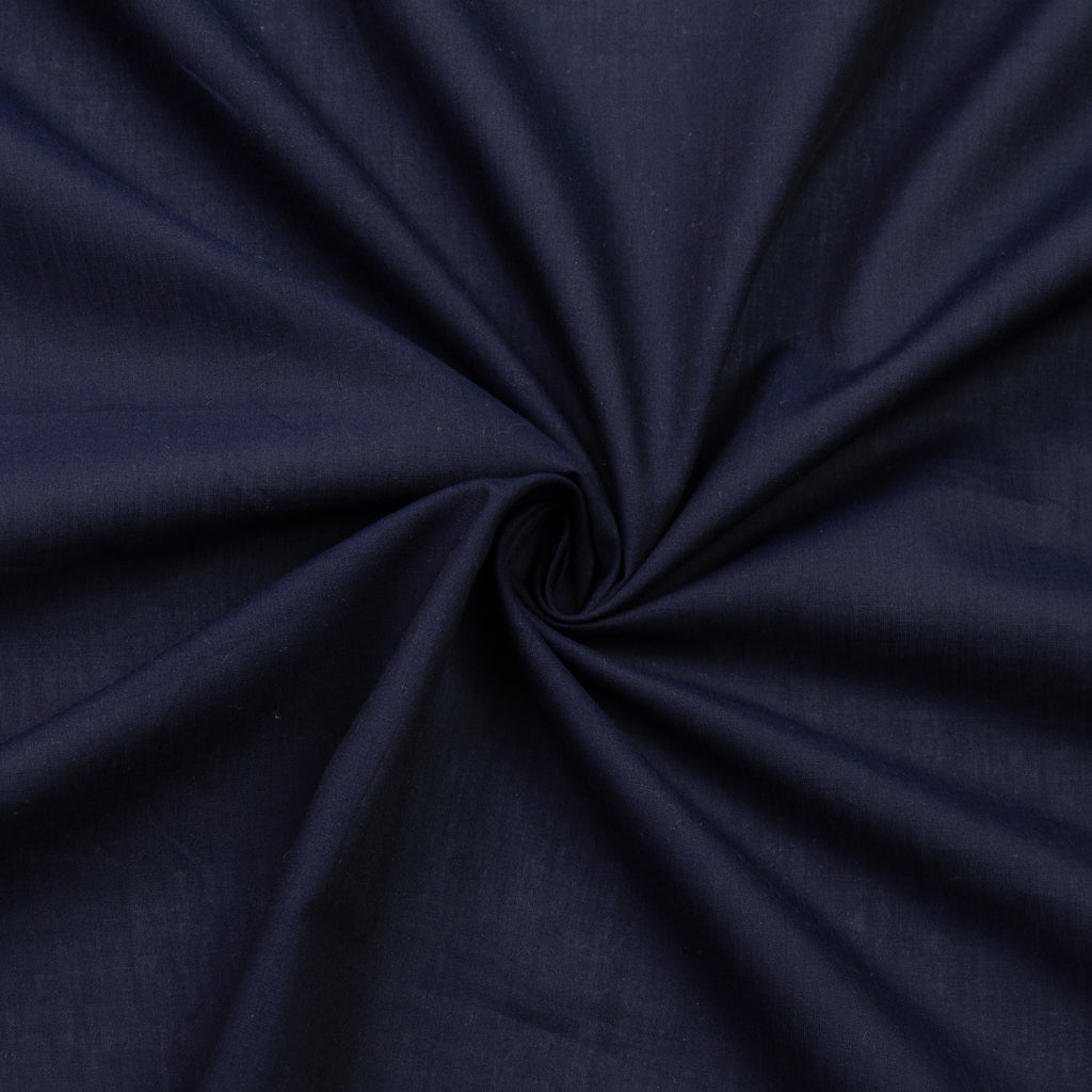 Vlora Navy Blue Cotton