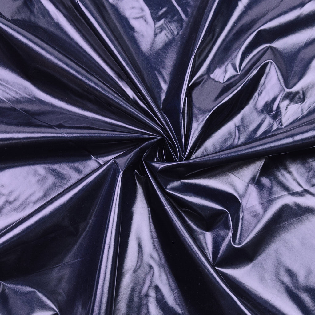 Rayvon Navy Blue Polyester Satin