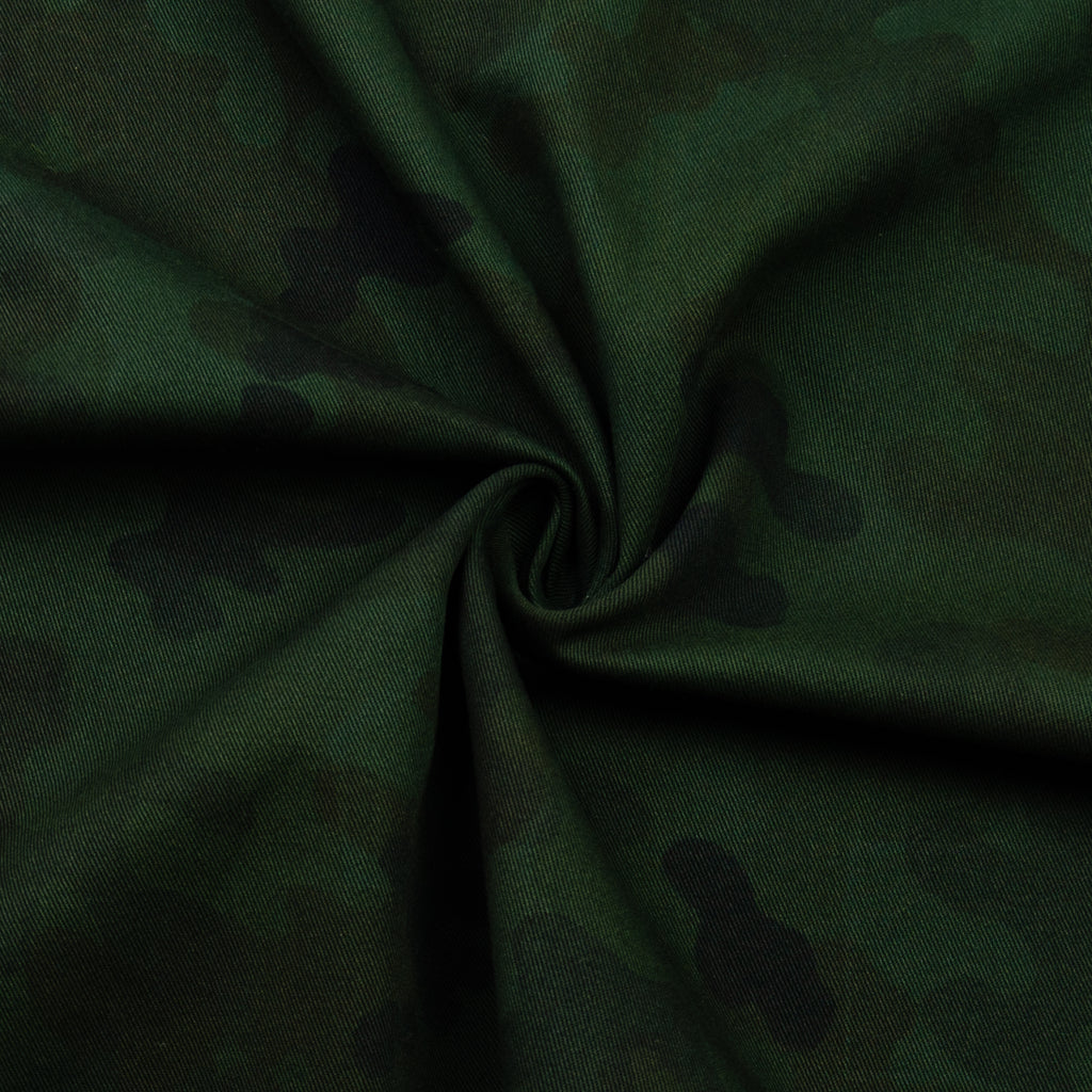 Pratt Military Printed Cotton Twill