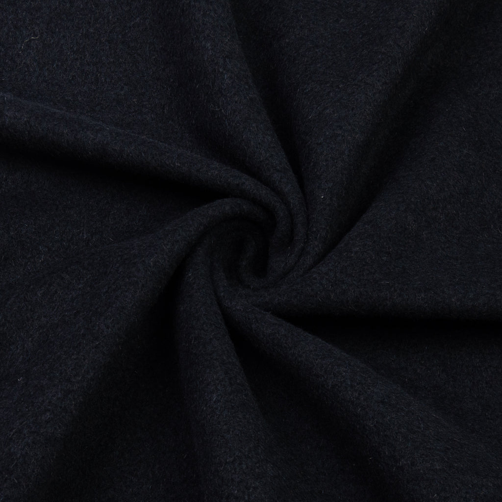 Vasilis Black Angora Wool