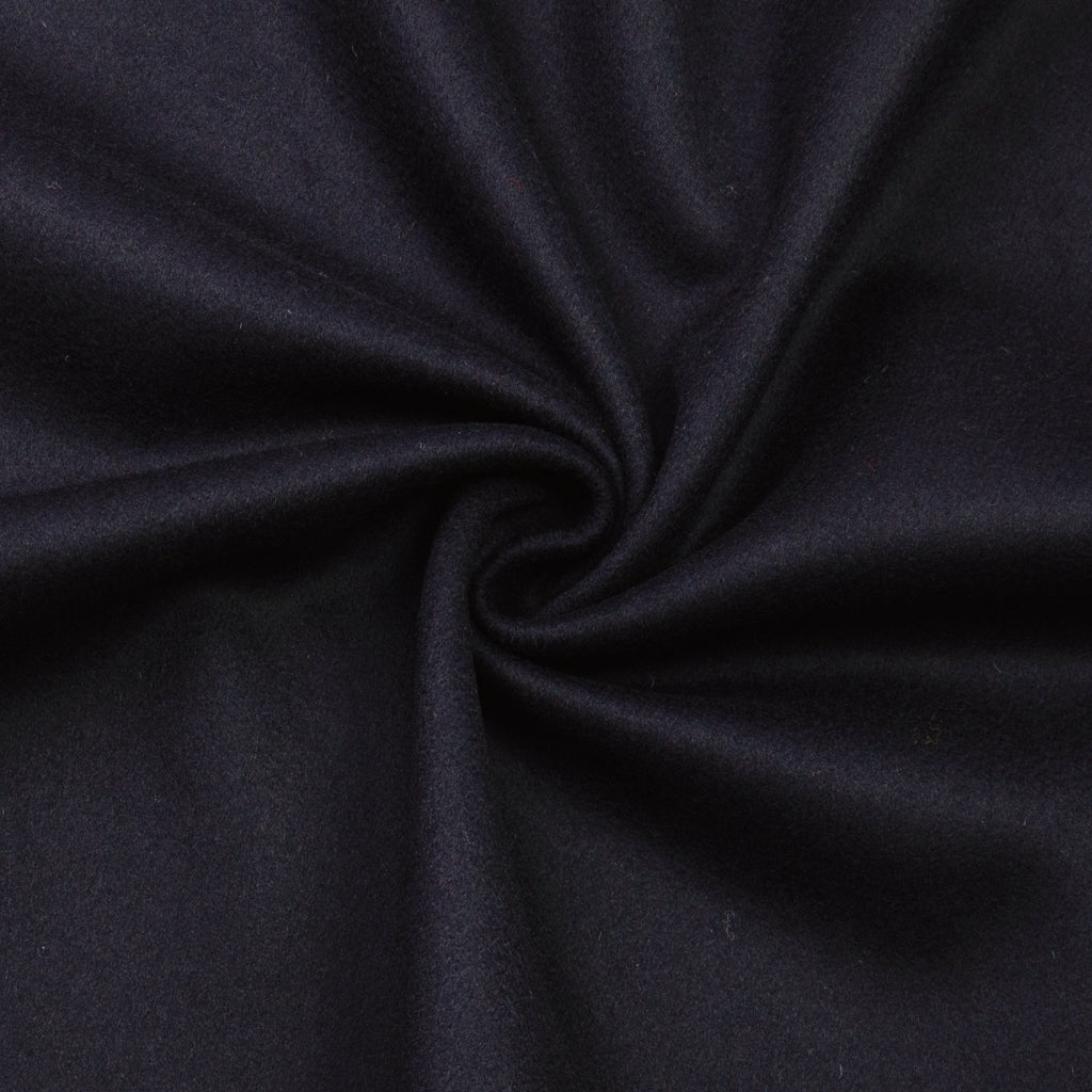 Galiceno Navy Wool Melton