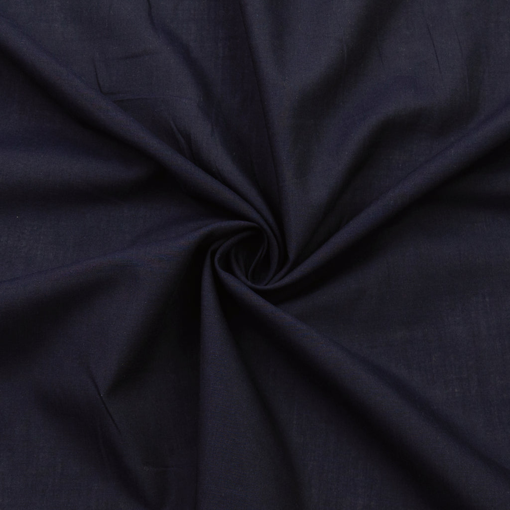 Venturo Navy Blue Cotton