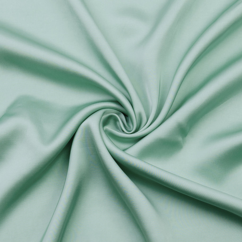Ventena Mint Green Viscose Satin