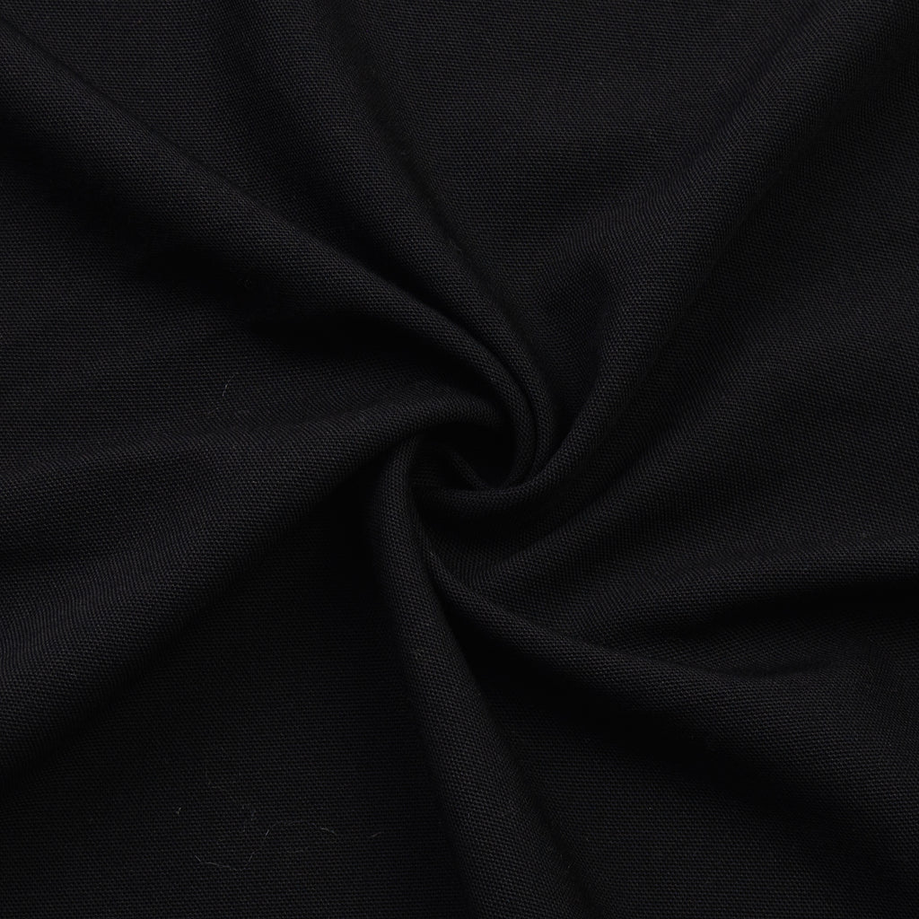 Baqer Black Virgin Wool