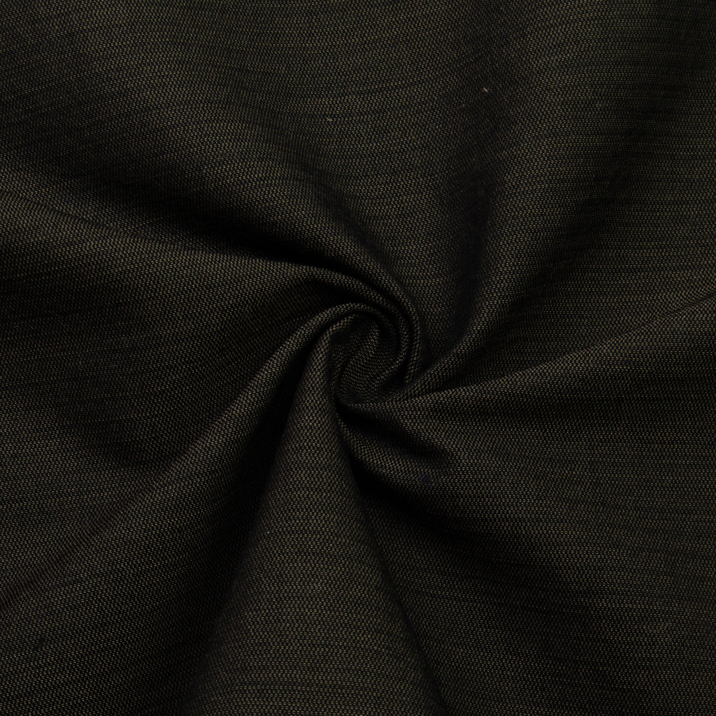 Galen Black&Brown Wool Cotton Blend