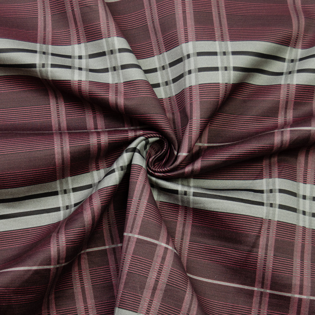 Prosper Plaid Cotton Sateen
