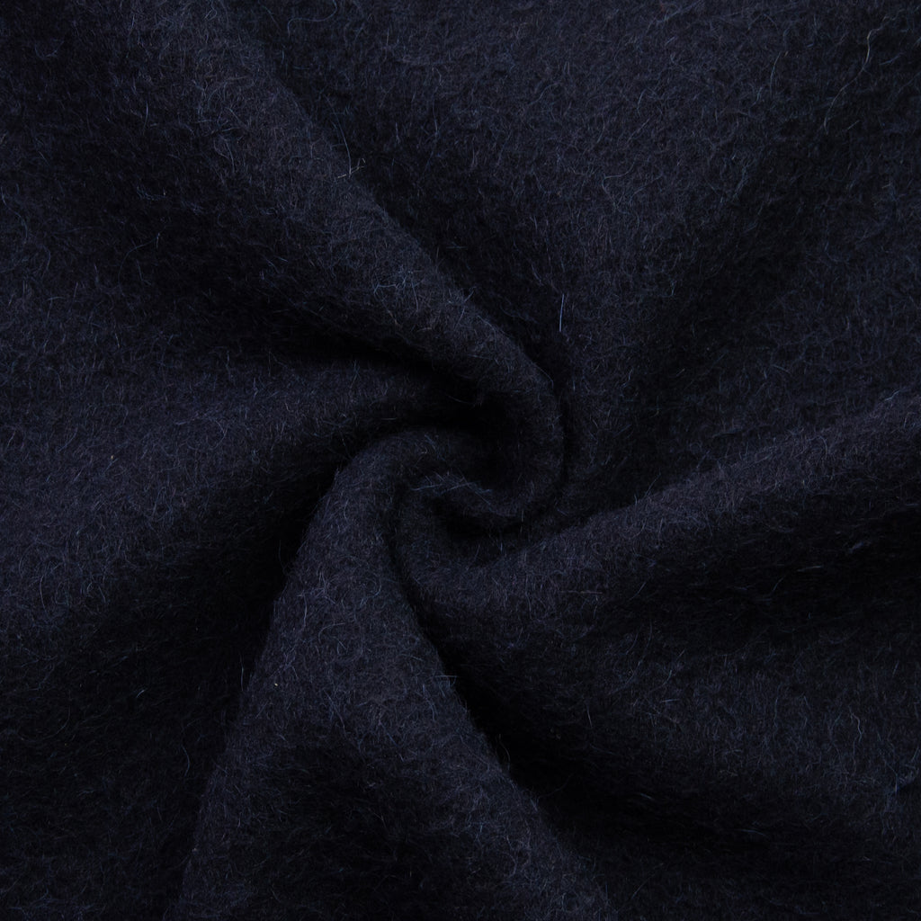 Varemma Navy Blue Alpaca Wool Blend
