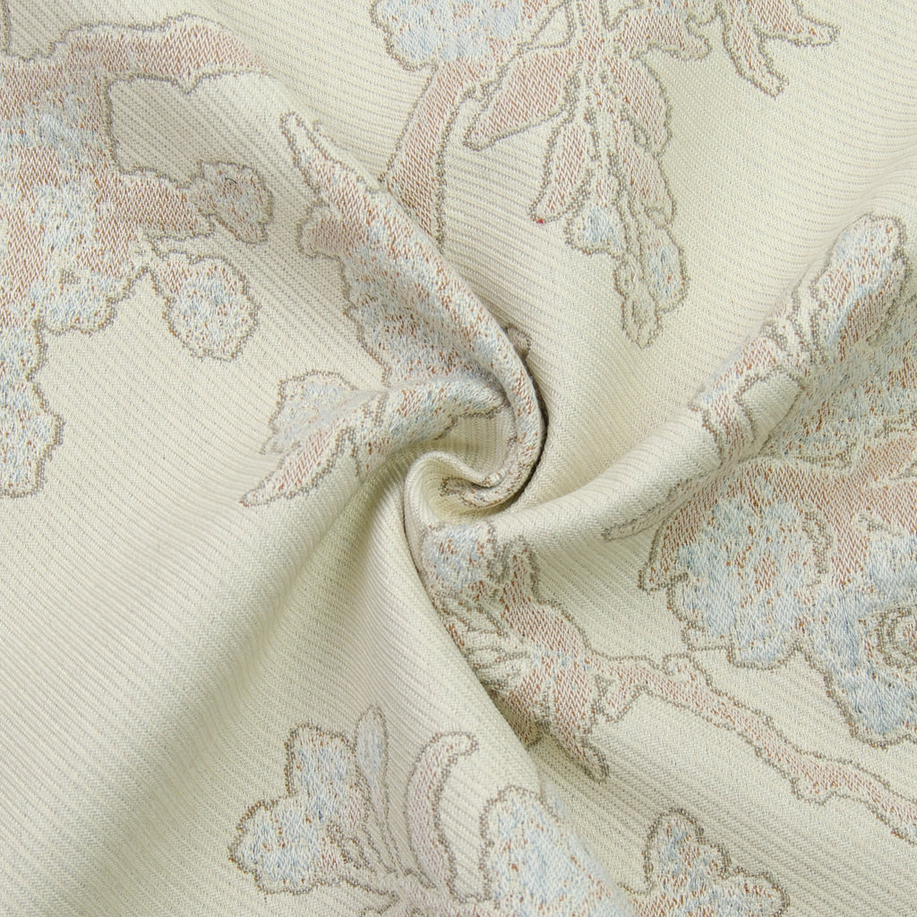 Vilmos Ecru Cotton Wool Blend Jacquard
