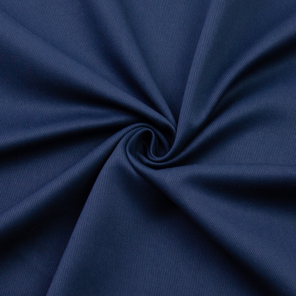 Voss Navy Blue Cotton Twill