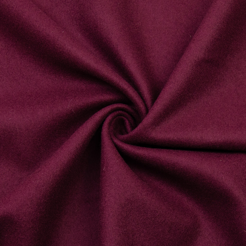 Vartan Burgundy Wool