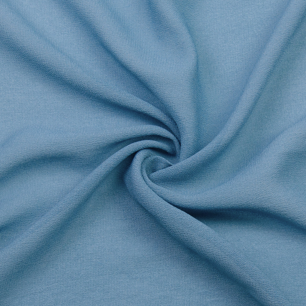Pham Blue Viscose Georgette