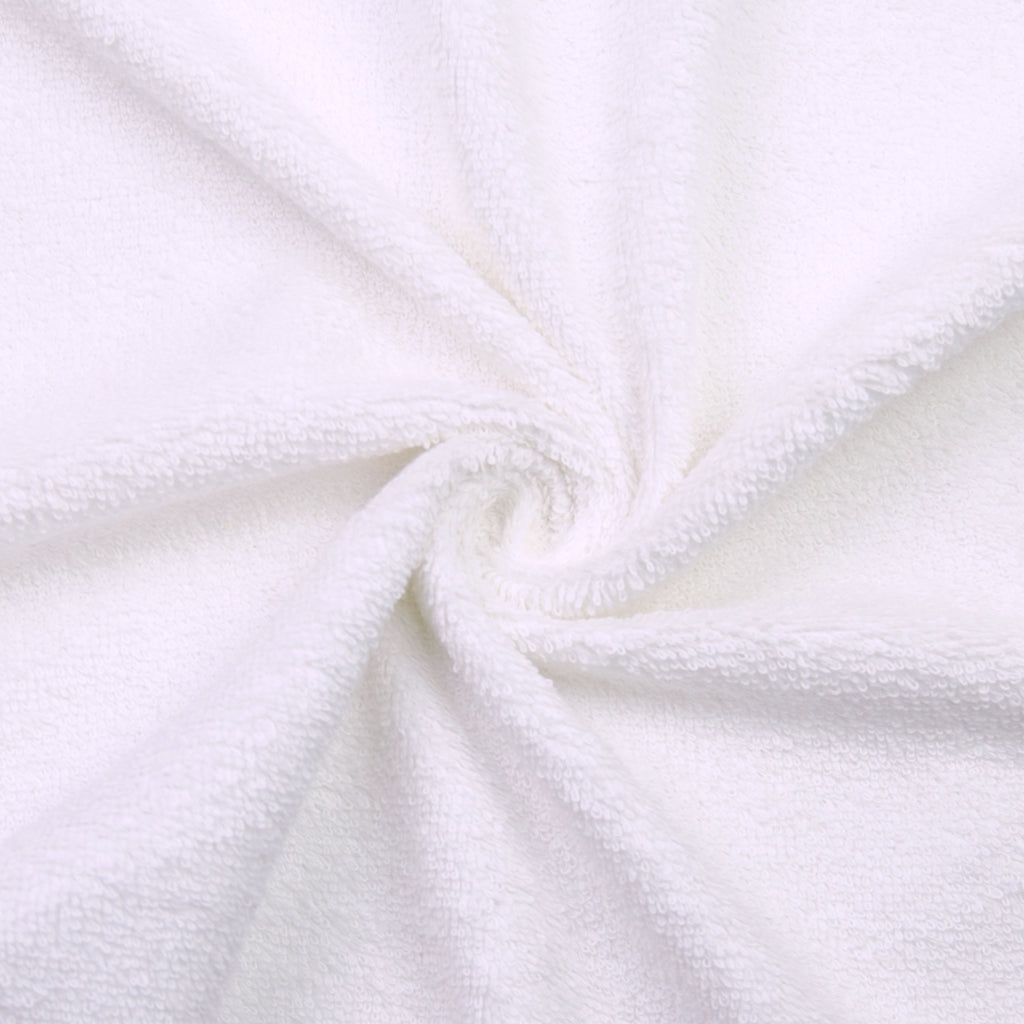 Patli White Brushed Cotton