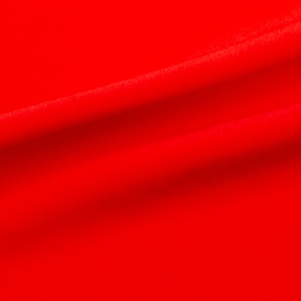 Phyliss Red Viscose Acetate Blend