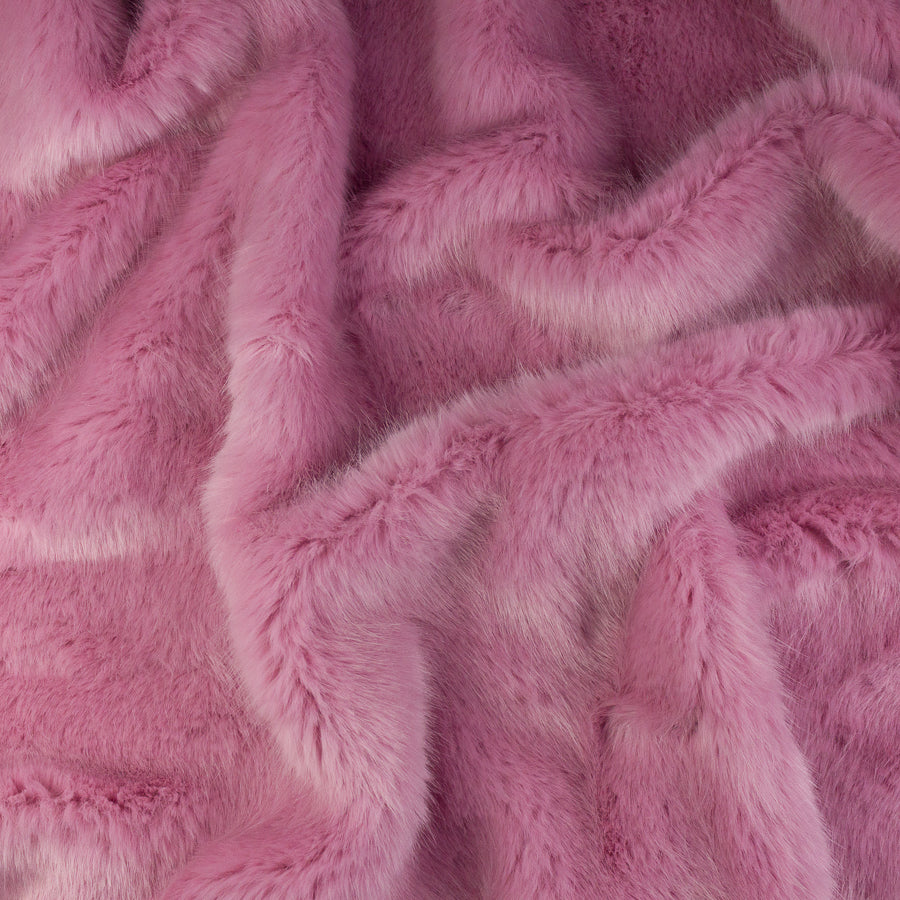 Julia Bubble Gum Faux Fur
