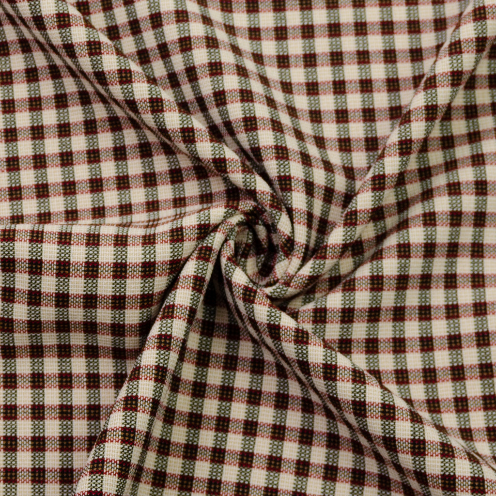 Espinoza Plaid Viscose Polyester Blend