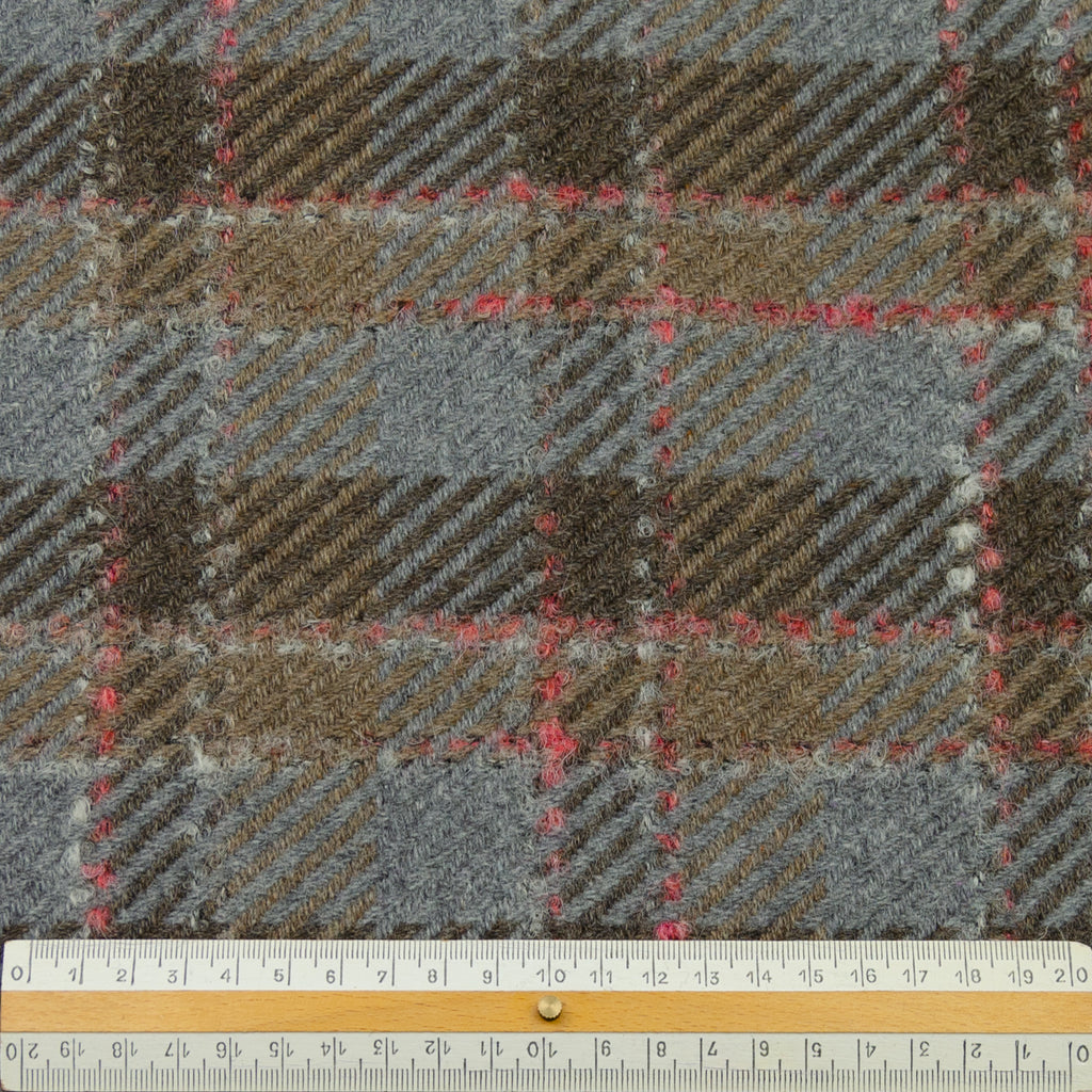 Edric Brown Plaid Wool