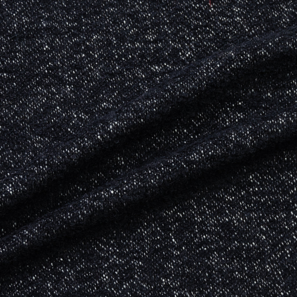 Echo Navy Knitted Wool