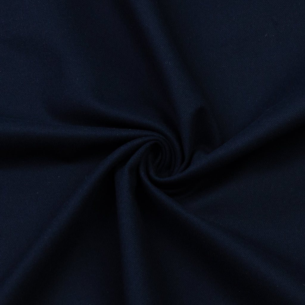 Eire Navy Cotton Flannel