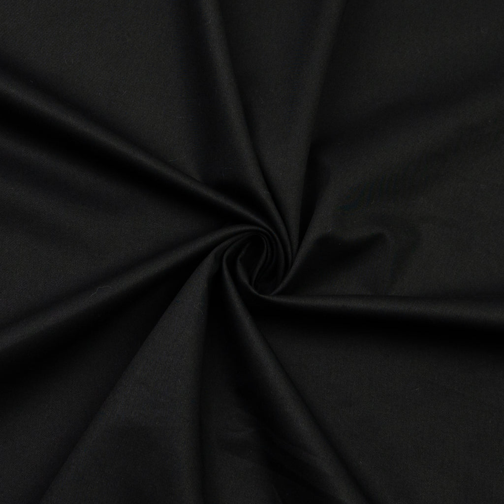 Eilis Black Stretch Cotton