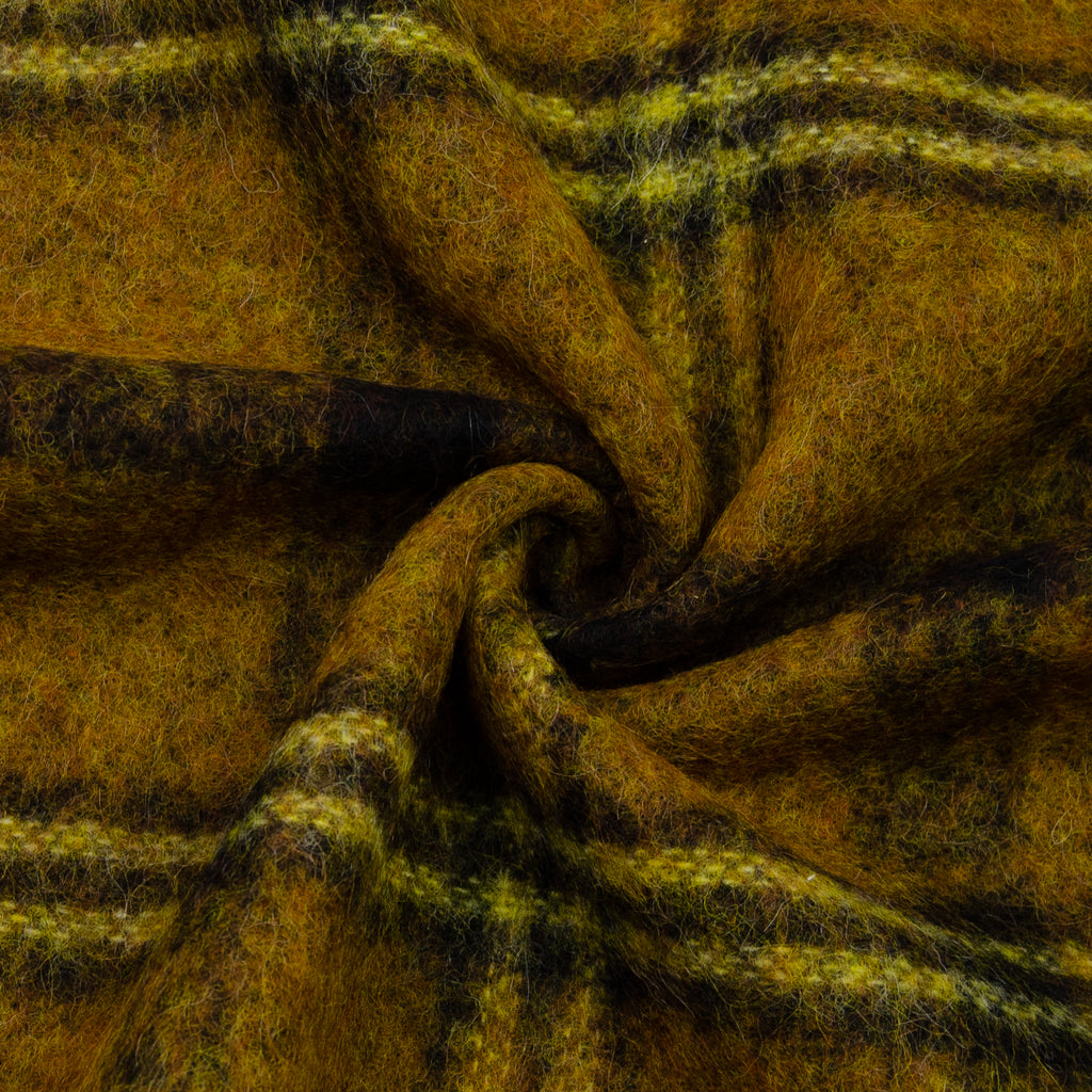 Edwin Yellow Plaid Wool