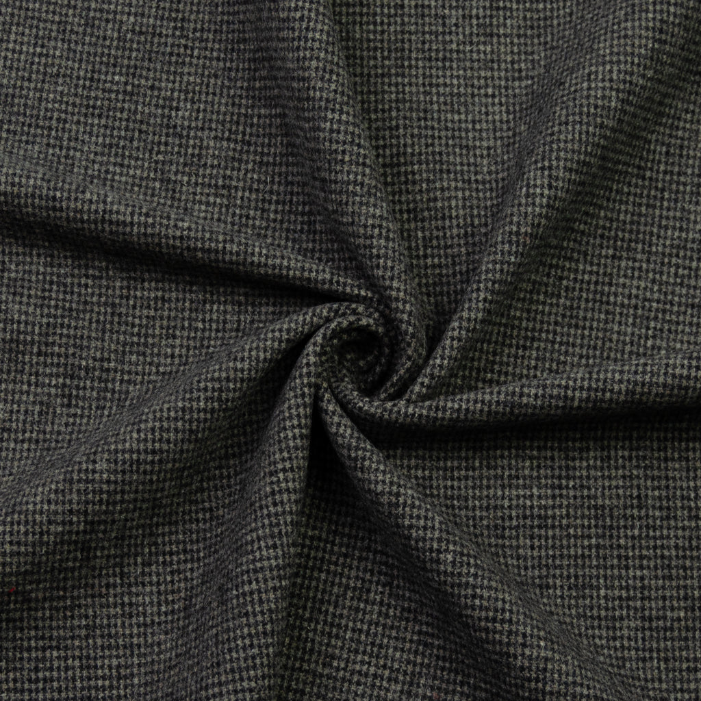 Ebbe Grey Houndstooth Wool