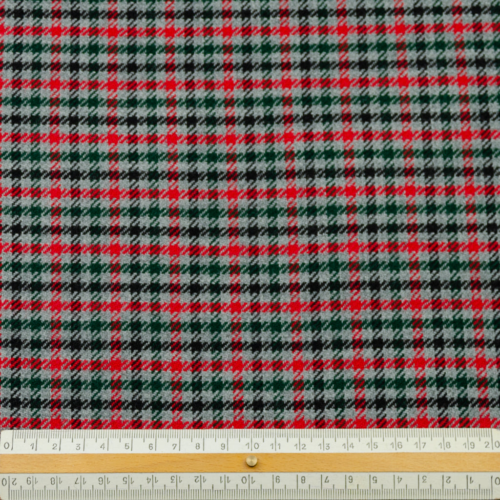 Edda Plaid Wool Polyamide Blend
