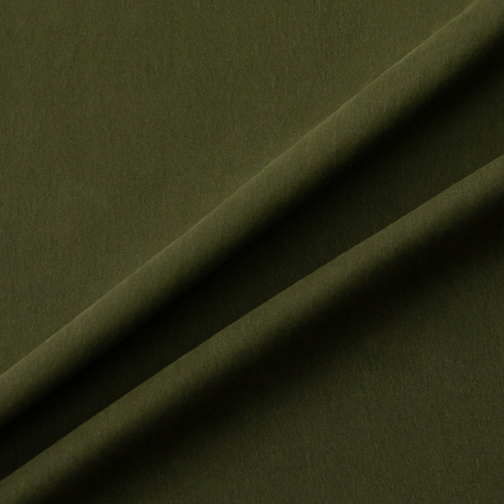 Salena Military Green Cotton Blend