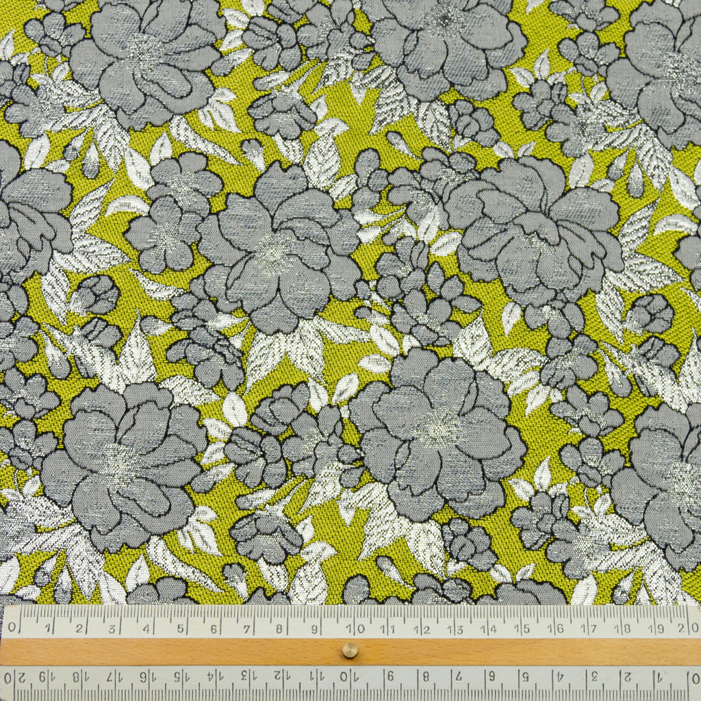 Emil Flowers Jacquard Polyester Blend