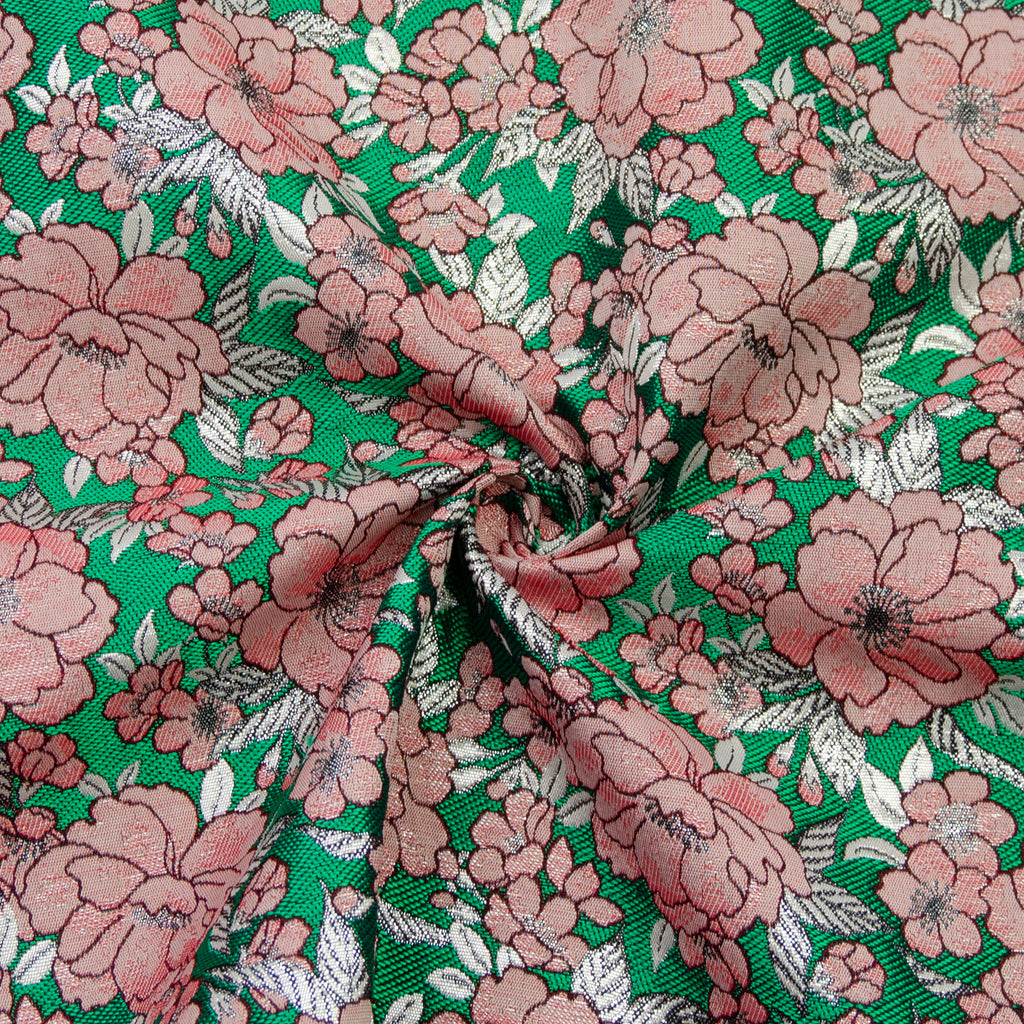 Emerin Flowers Jacquard Polyester