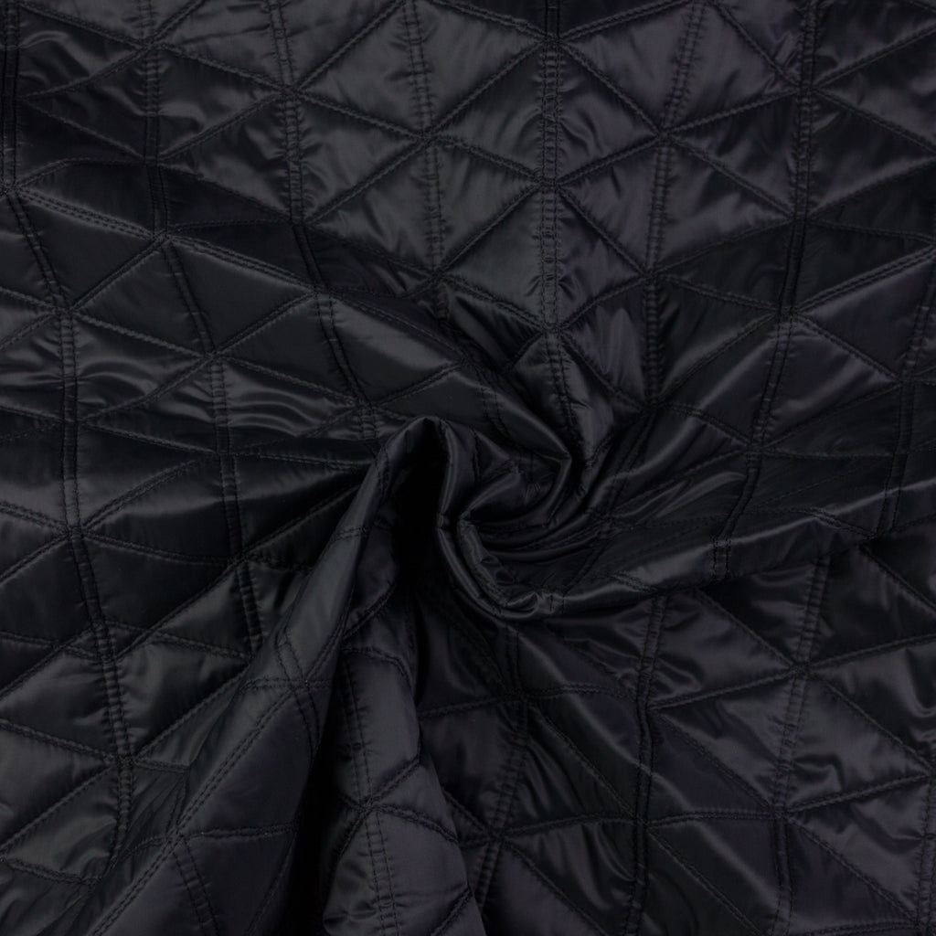 Raff Black Quilted Padding