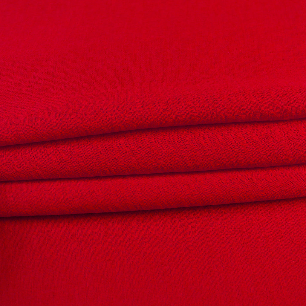 Red Cotton Gauze