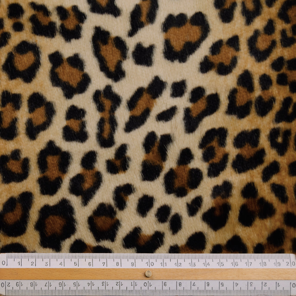 Lev Leopard Fake Fur