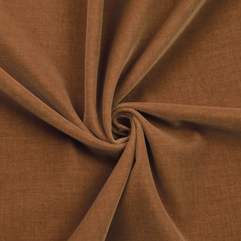 Iber Camel Cotton Velour