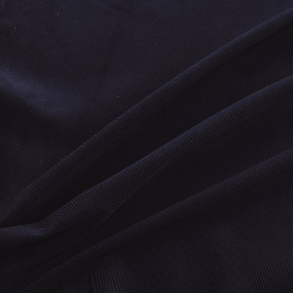 Ivana Navy Blue Cotton Corduroy