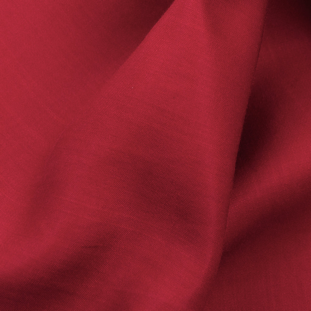 Fico Red Silk and Cotton Blend